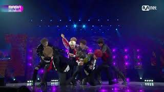 【Live中字】171201 防彈少年團(BTS) - Bridge Perf. + DNA @2017 MAMA in Hong Kong