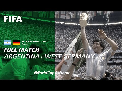 #WorldCupAtHome | Argentina v West Germany (Mexico 1986)