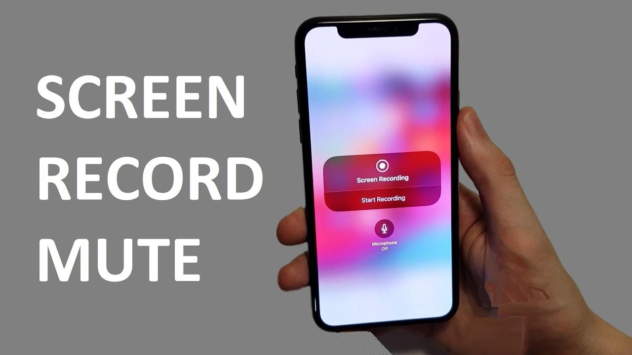 iOS 12 Screen Recorder No Audio for YouTube FIX (iPhone X)