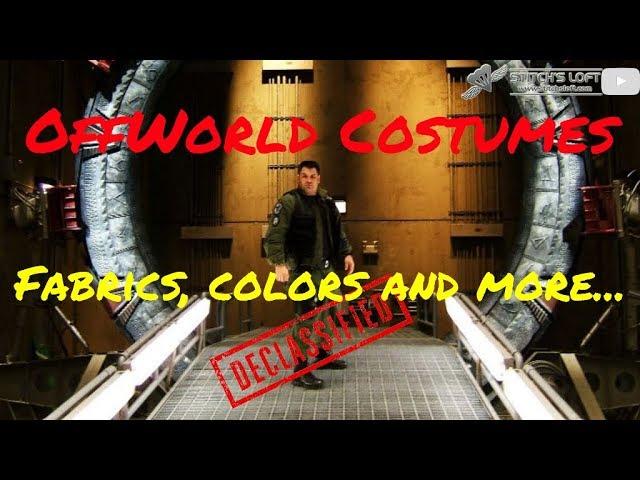 OFFWORLD COSTUME (Jackets, Pants, Colors & Fabrics)
