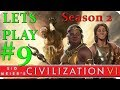 Civilization 6   Part 9   PREPARING COUNTER ATTACK   Civ 6 Hotseat Multiplayer Gameplay  Season 2