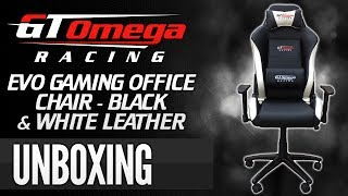 Gt Omega Racing Evo Gaming Office Chair [unboxing & Setup]