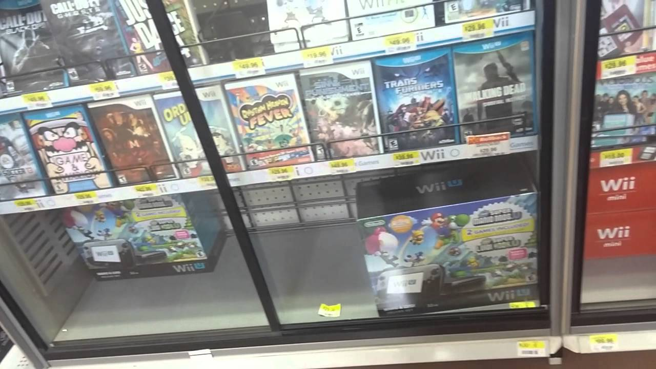 Walmart Video Game Console Sales Sep 4 2014 Youtube