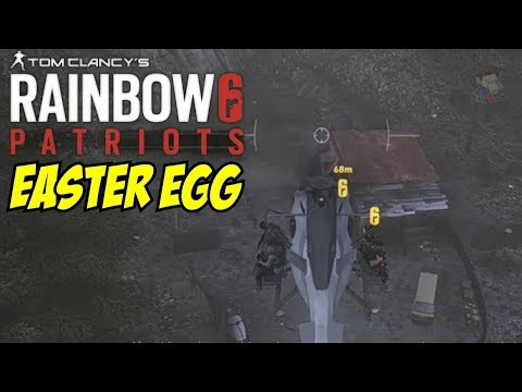 Rainbow Six Siege Operation Patriot Easter Egg in Ghost Recon Wildlands Arch Angel Special 2 |