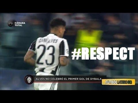 Dani Alves Reaction After Goals vs Barcelona #RESPECT
