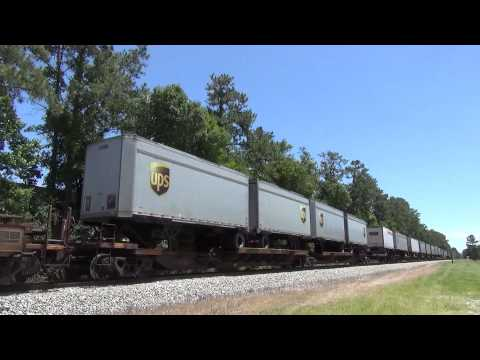 Trains in Jacksonville, FL Part 1 FEC.