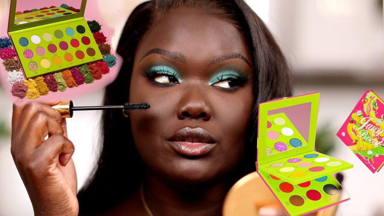 Coloured Raine Juicy Boost Palette First Impressions || Nyma Tang