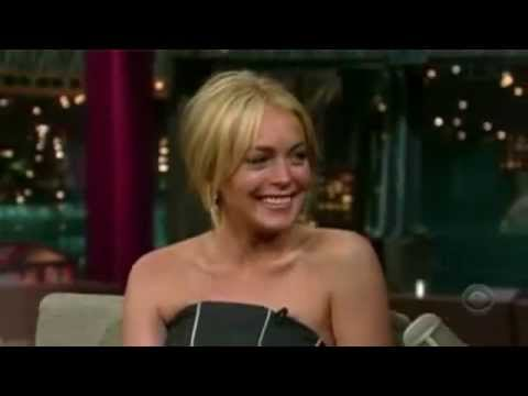 Lindsay Lohan - Late Night with David Letterman 2007