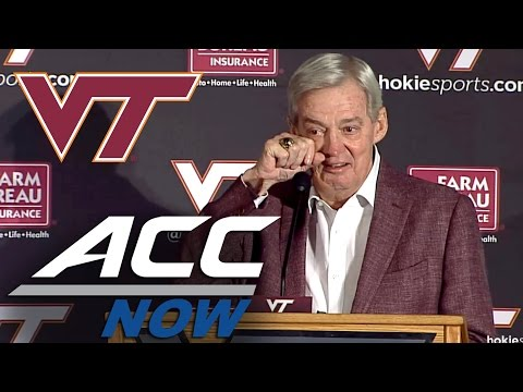 Frank Beamer Emotional Announcing Retirement from Virginia Tech