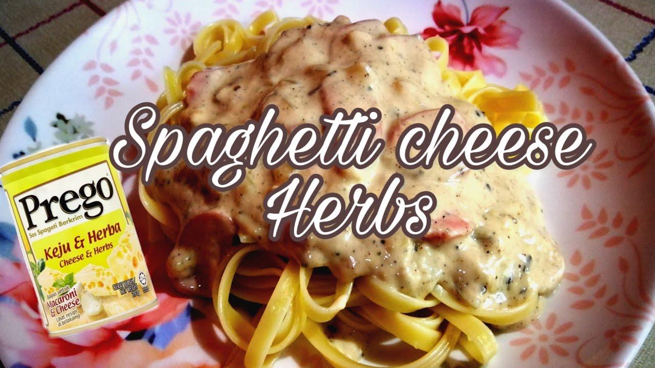 Spaghetti Cheese And Herbs Youtube