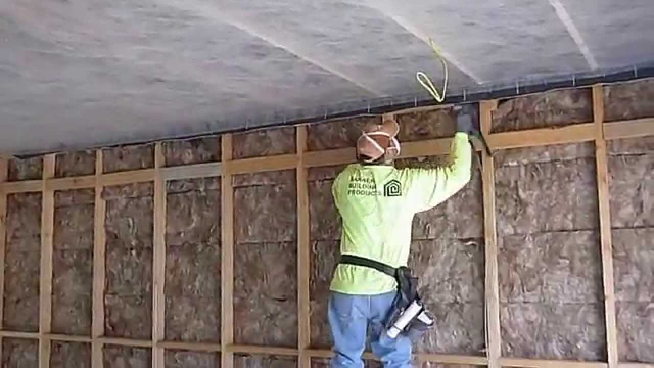 2015 08 06 Stapling Scrim To Ceiling Joists To Support