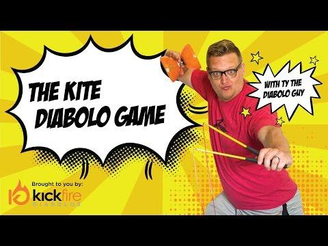 The Kite Diabolo Game | KickFire Diabolos | Diabolo Tricks | Chinese YoYo Tricks