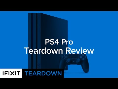 PlayStation 4 Pro Teardown Review!