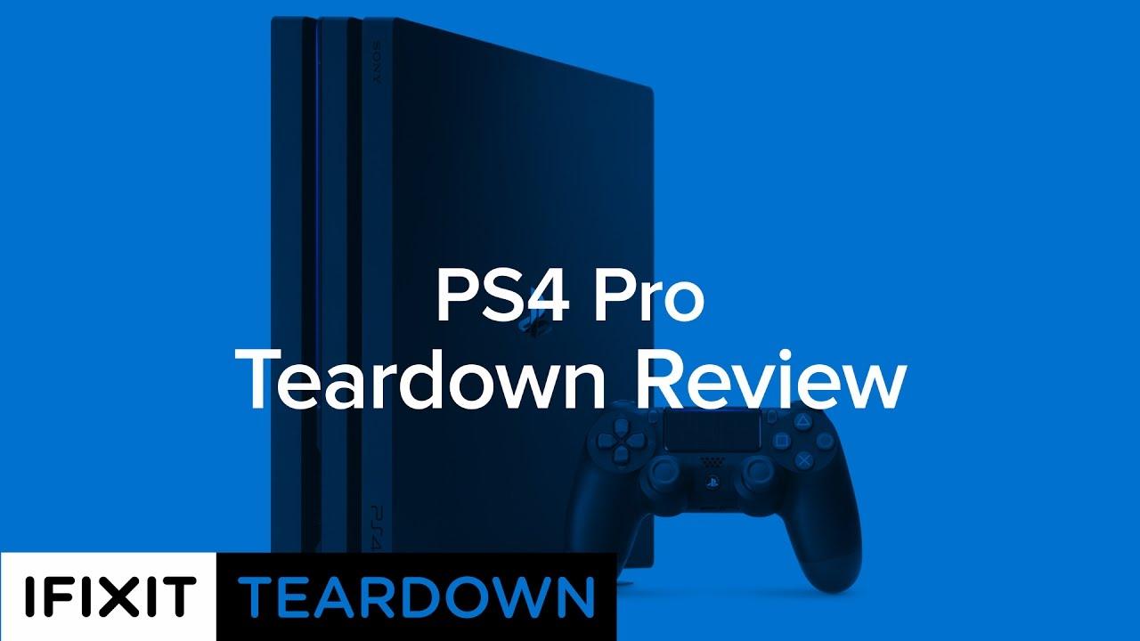 PlayStation 4 Pro Teardown - iFixit