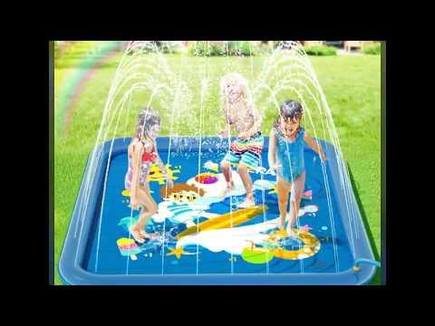 peradix-splash-pad,sprinkler-play-matte,170cm-sommer-garten-wasserspielzeug-kinder-baby-pool