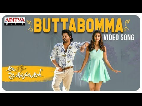 ButtaBomma Video Song || Allu Arjun || Trivikram | Thaman S
