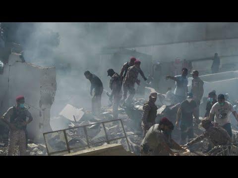 Pakistan : un avion avec près de 100 personnes à son bord s'écrase à Karachi