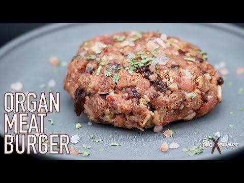 Organ Meat Burger | Keto Savage Kitchen
