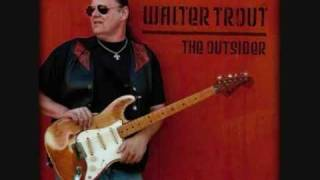 Walter Trout - Welcome to the Human Race (solo backing track)