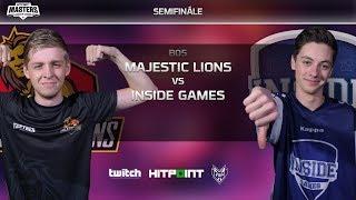 Majestic Lions vs Inside Games @ Hitpoint LEGENDS #2 GAME 2