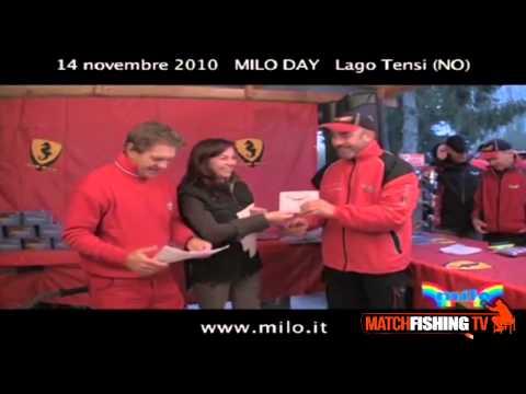 PESCA AL COLPO: Milo Day a Cascina Tensi (NO)