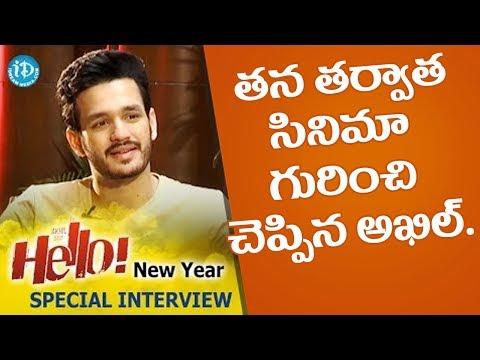 Akhil About His Next Movie @ Akhil...