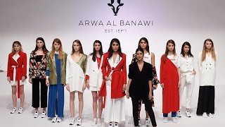 Arwa Al Banawi | Full Show | Fashion Farward Dubai | Fall/Winter 2017/2018