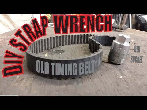 Heavy Duty Strap Wrench Build