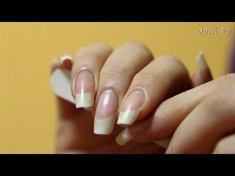 ✧ Filing harsh -sharp my Natural Nails ✧