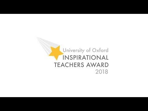 University of Oxford Inspirational Teachers Awards 2018