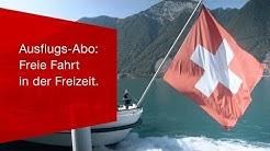 Ausflugs-Abo: Freie Fahrt in der Freizeit.
