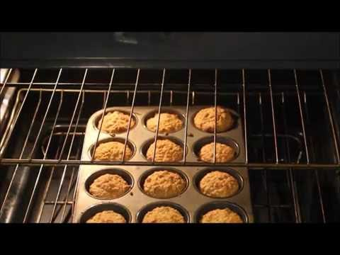 Gluten Free Oatmeal Apple Walnut Muffins