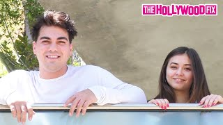 Thomas Petrou & Mia Hayward Speak Openly About Their Relationship & Living At The Hype House