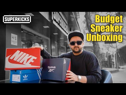 Budget Sneaker Unboxing : Reebok x Dime bb4000, Adidas Arizona Superstar & Nike Tailwind 79