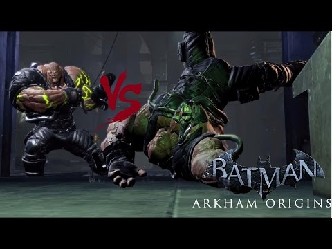 Batman: Arkham Origins - TN-1 Bane vs TN-1 Bane |