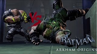 Batman: Arkham Origins - TN-1 Bane vs TN-1 Bane