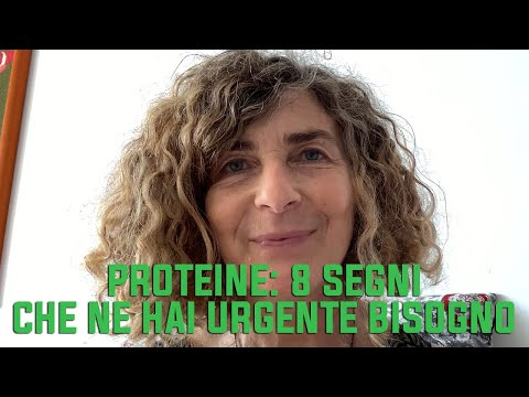 Proteine:  8 segni che ne hai urgente bisogno