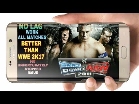 WWE SMACKDOWN Vs RAW 2011 ANDROID PSP GAME (BEST WWE GAME IN HISTORY) (HINDI/URDU)