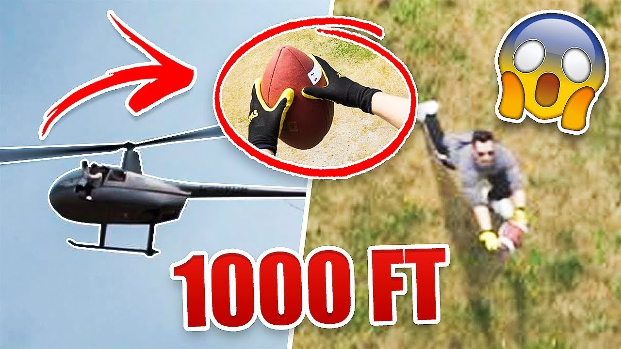can-you-catch-a-football-dropped-from-a-helicopter-1-000-feet-in-the-air-world-record-attempt