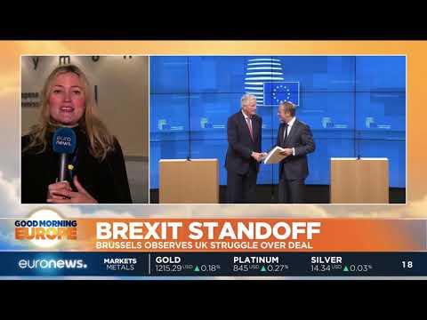 euronews (in English): Brexit Standoff: Brussels observes UK struggle over deal | #GME