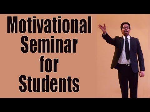 Inspirational Seminar for Students  – Motivational Speaker Him-eesh Madaan
