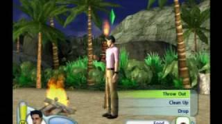 Detonado The Sims 2 castaway PS2 : O começo