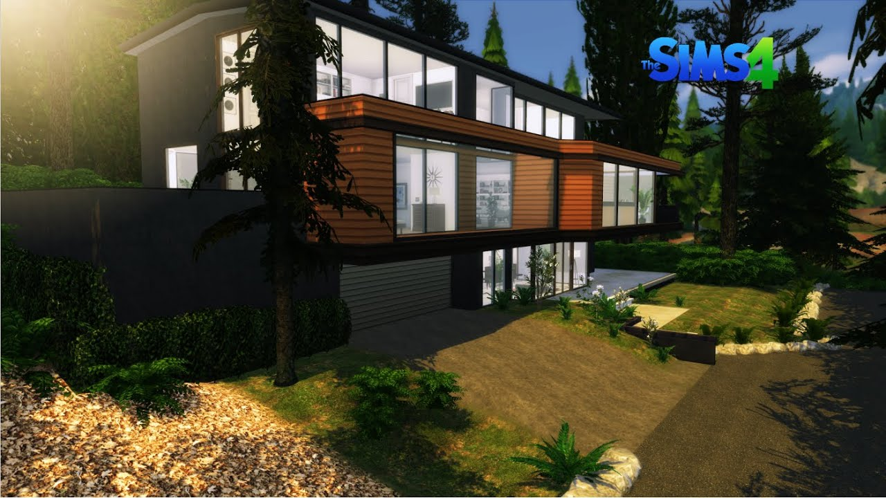 The Cullen House Twilight The Sims 4 Home Tour Download Link Youtube