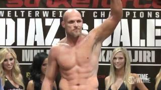 Live from San Diego, the official weigh-in from Strikeforce Diaz vs. Daley. Headliners Nick Diaz and Paul Daley, plus Gilbert Melendez, Tatsuya Kawajiri, Gegard ...