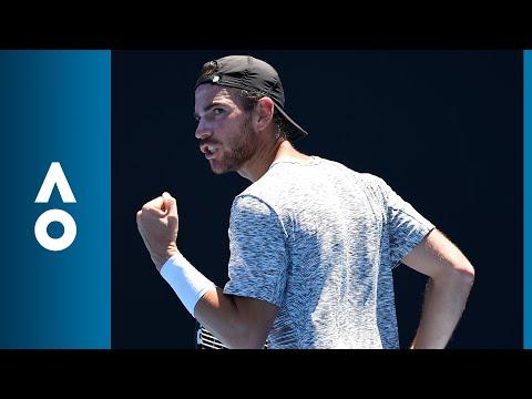 Matteo Berrettini v Adrian Mannarino match highlights (1R)   Australian Open 2018