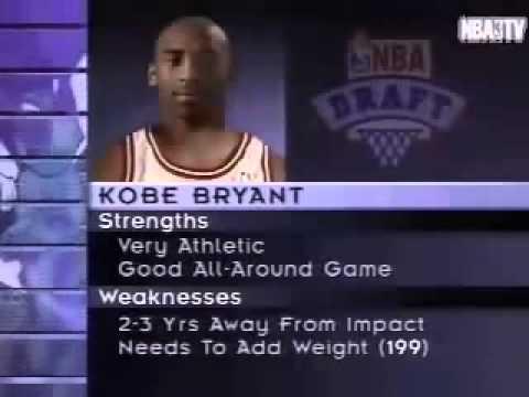 Kobe Bryant - NBA Draft 1996