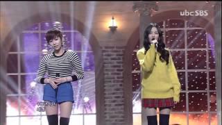 써니힐 (Sunny Hill) [Goodbye to Romance] @SBS Inkigayo 인기가요 20121216