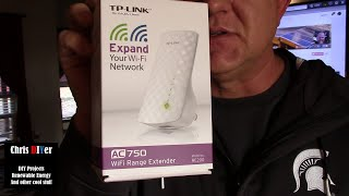 Hooked up! TP-Link AC750 WiFi Extender RE200, Samsung Smart HDTV linked up, and 5G bliss!