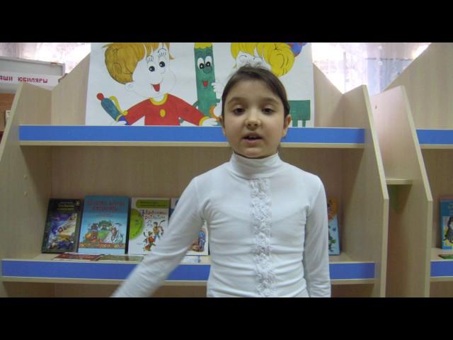 Изображение предпросмотра прочтения – АринаХалилова читает произведение «Бежим, бежим, дитя свободы.» А.А.Блока