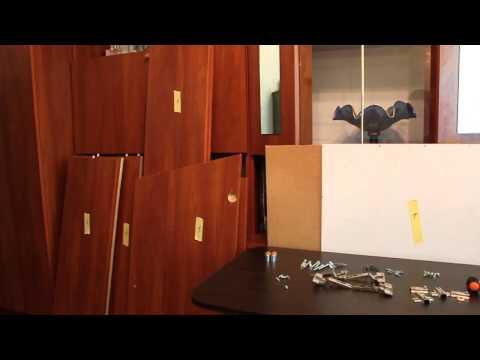 Как разобрать старый шкаф